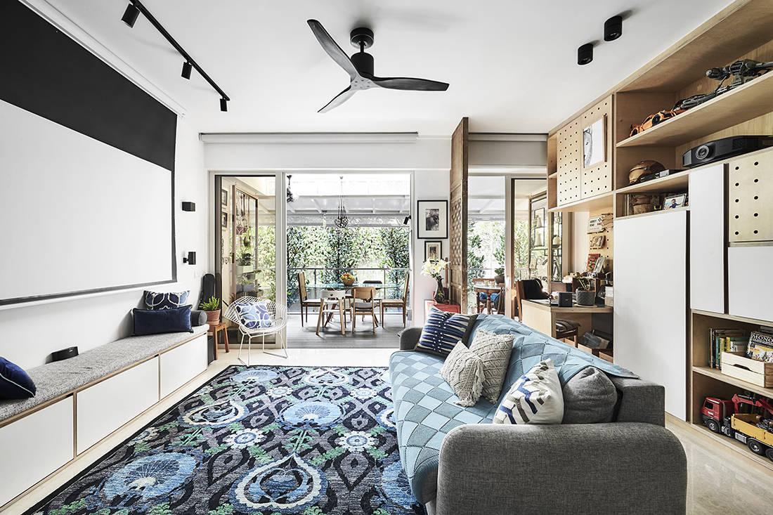 tropical oasis family home designed by Third Avenue Studio