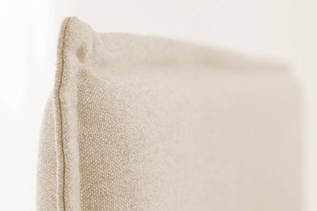 European Bedding Ergonomic Slatted Bed Base headboard