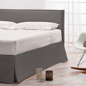European Bedding Ergonomic Slatted Bed Base headboard and skirt