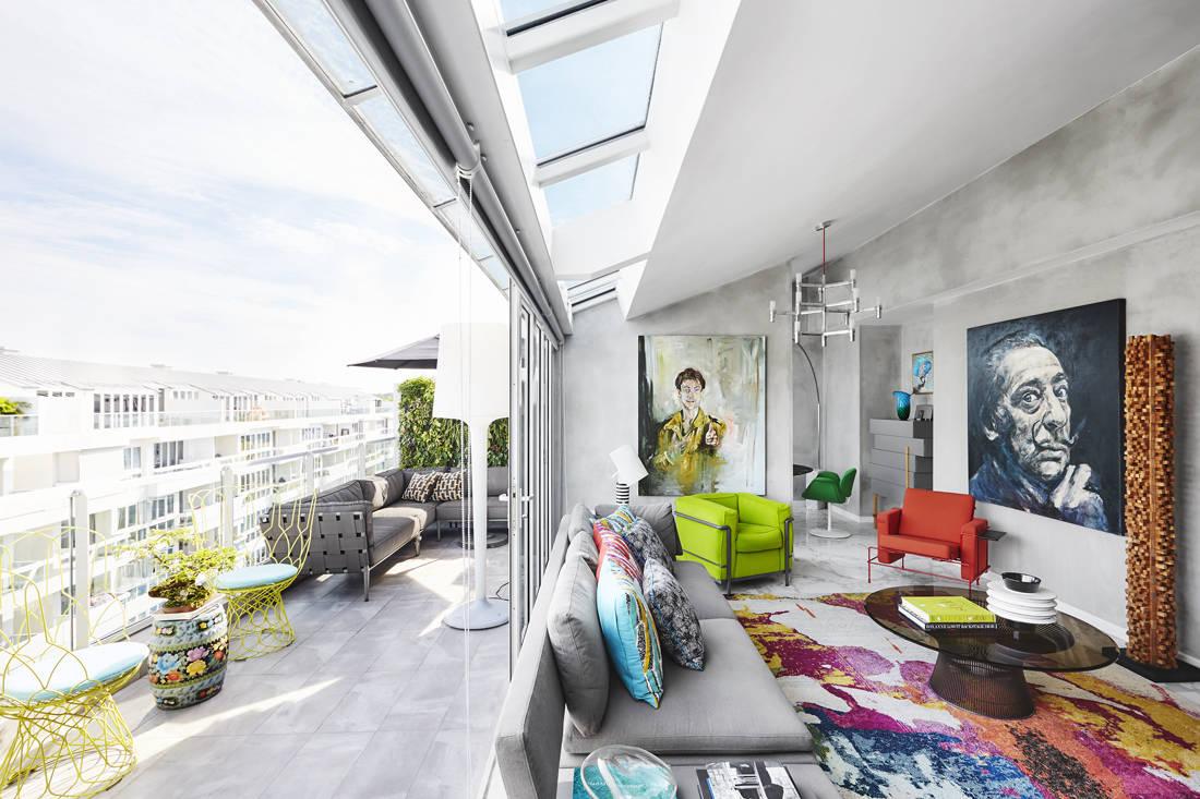 Sazeli Jalal home indoor outdoor seating