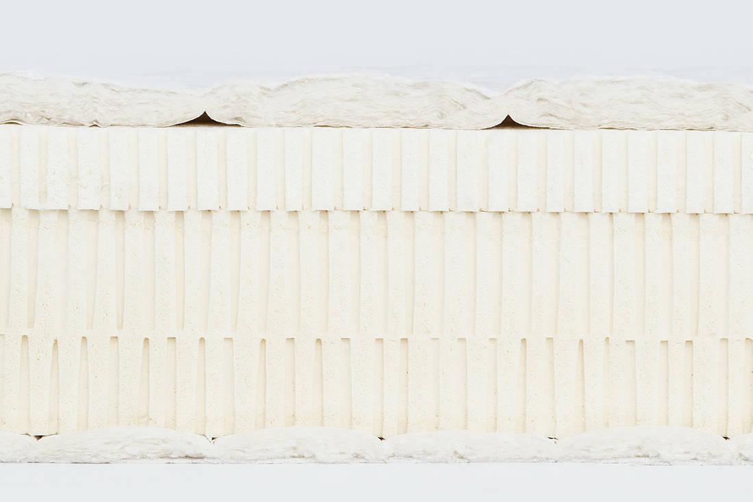European Bedding Heveya Natural Organic Latex Mattress II layers