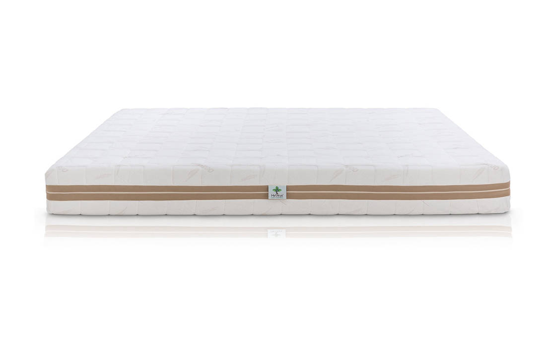 European Bedding Heveya Natural Organic Latex Mattress I front view