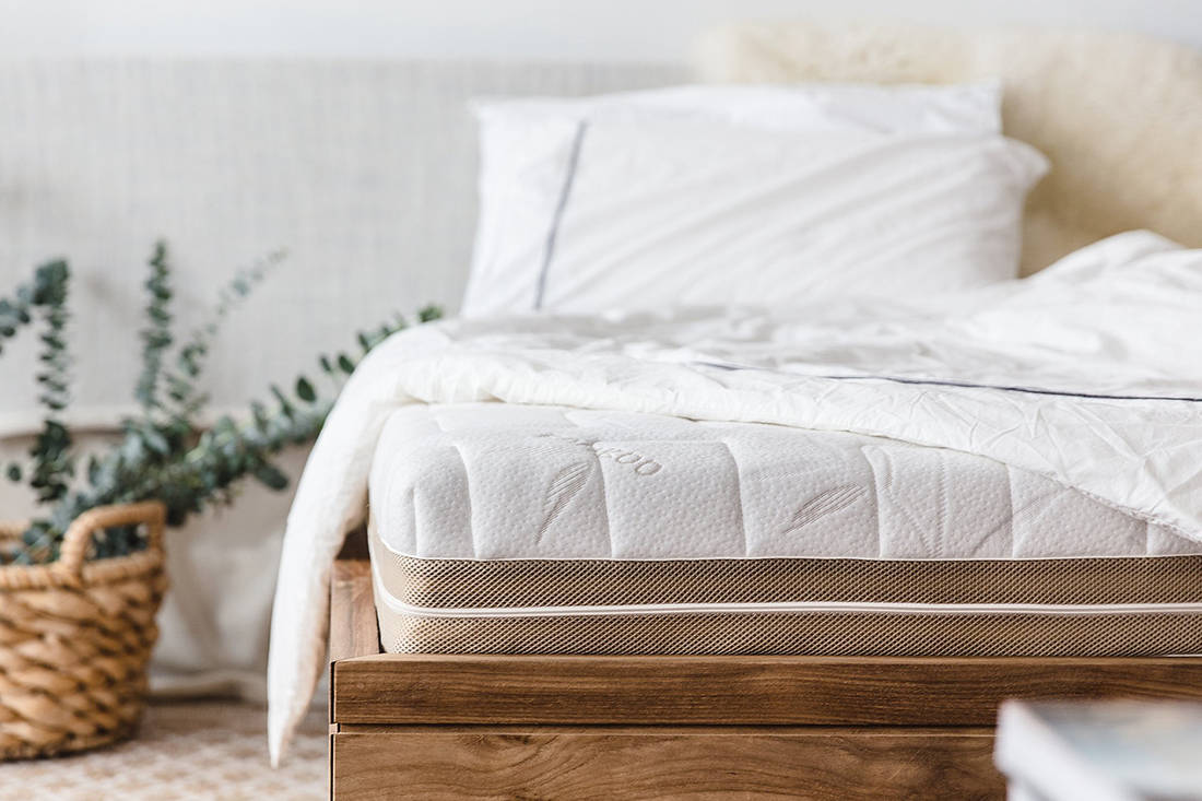 European Bedding Heveya Natural Organic Latex Mattress I