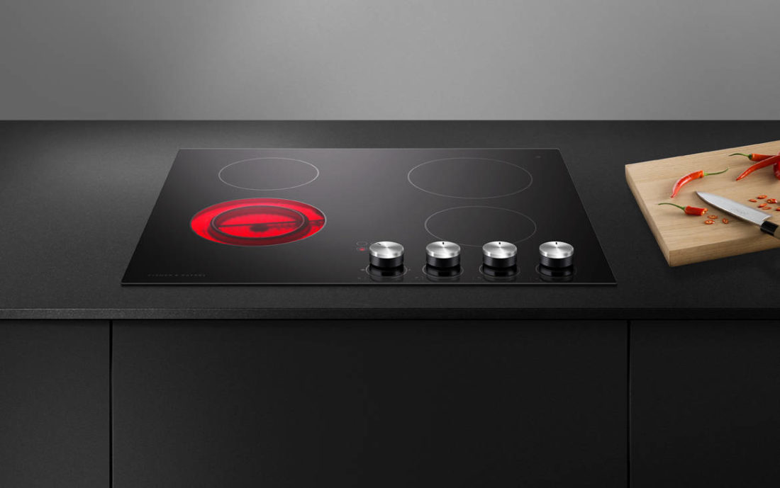 Fisher & Paykel 4 Element Electric Cooktop (CE604CBX2)