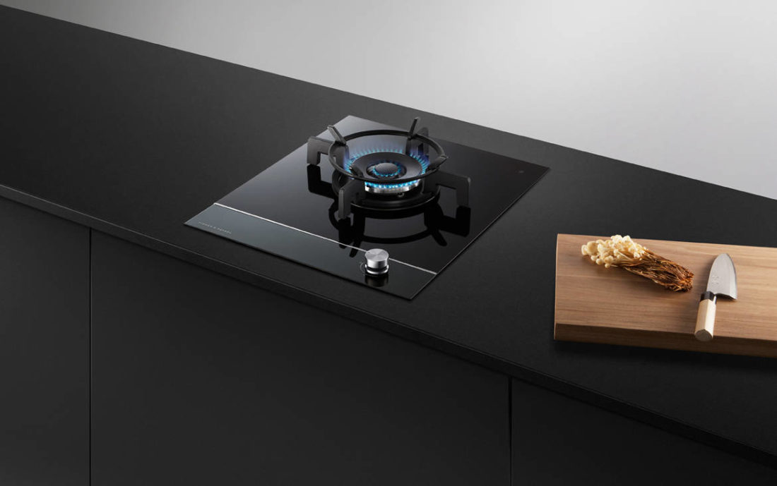 Fisher & Paykel 45cm Gas on Glass Cooktop (CG451DTGGB1)