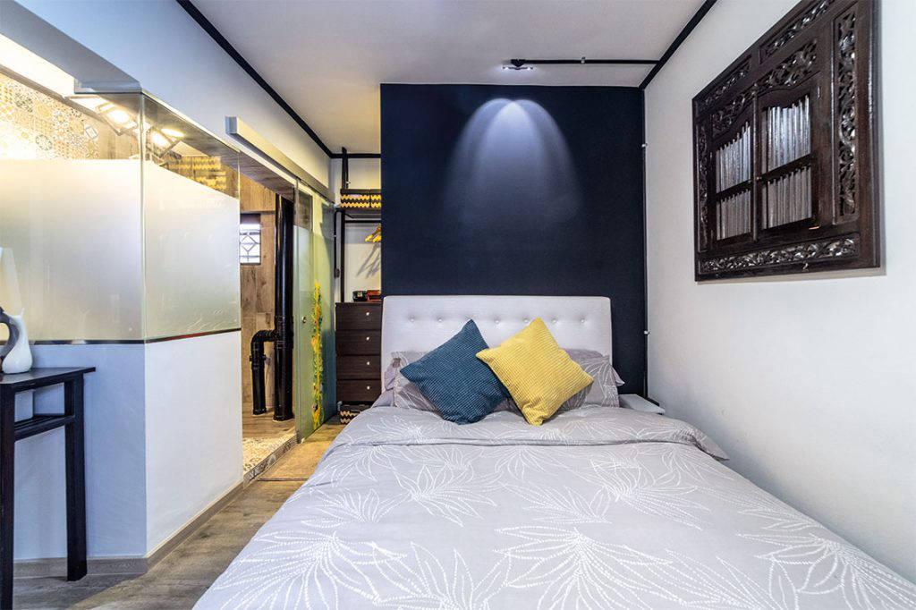 comfortable maisonette bedroom IDID