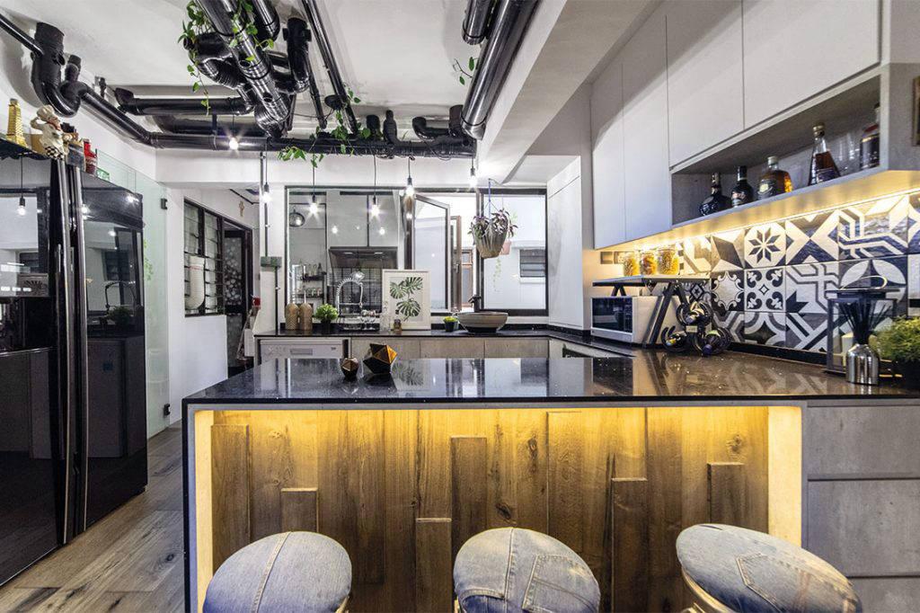 comfortable maisonette kitchen IDID