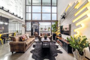 comfortable maisonette living room IDID