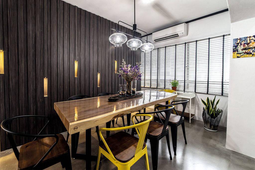 comfortable maisonette dining room IDID