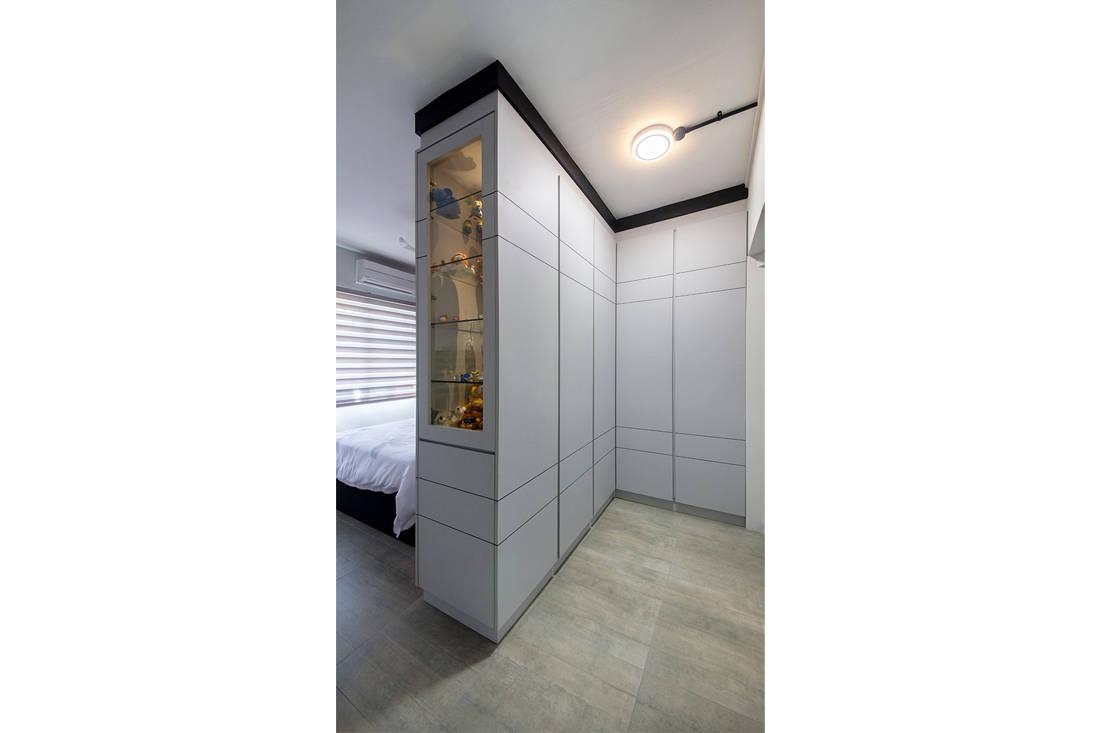 Forefront Interior Bangkit Road resale HDB flat bedroom