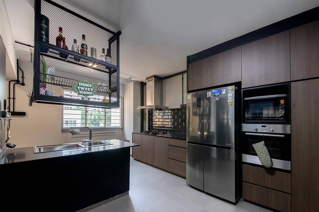 Forefront Interior Bangkit Road resale HDB flat kitchen