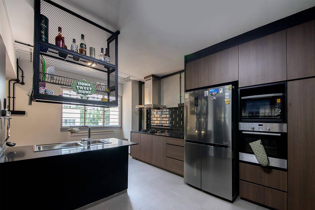 Forefront Interior Bangkit Road resale HDB flat kitchen