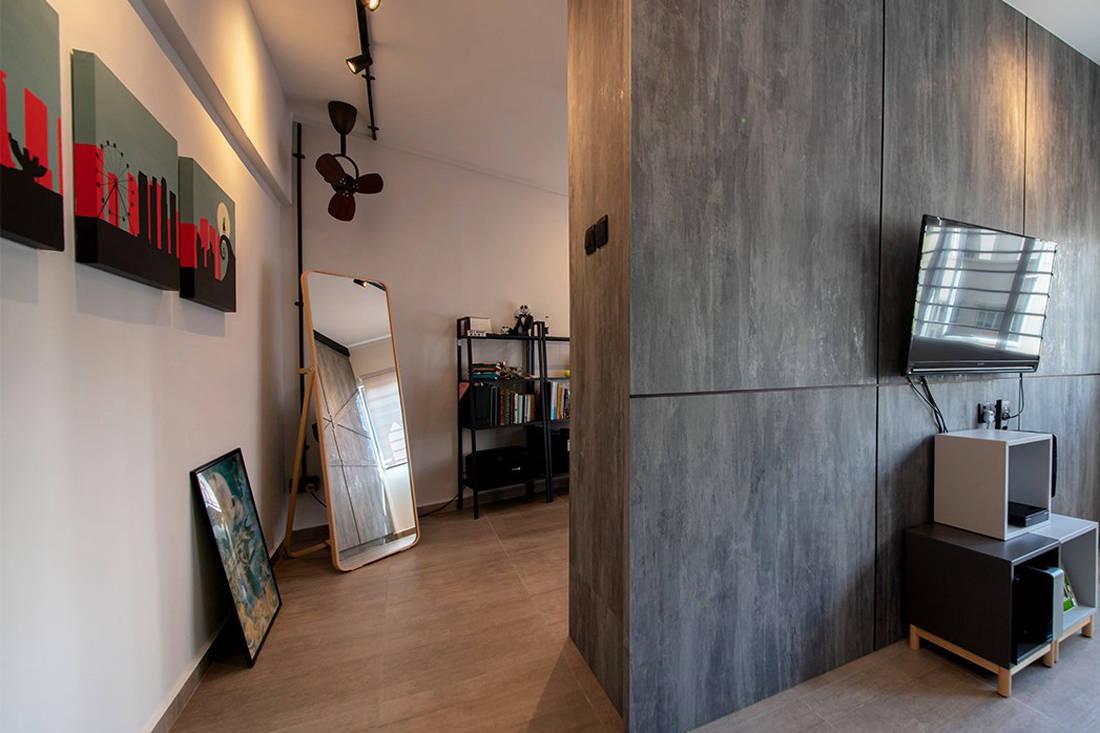 Forefront Interior Bangkit Road resale HDB flat study