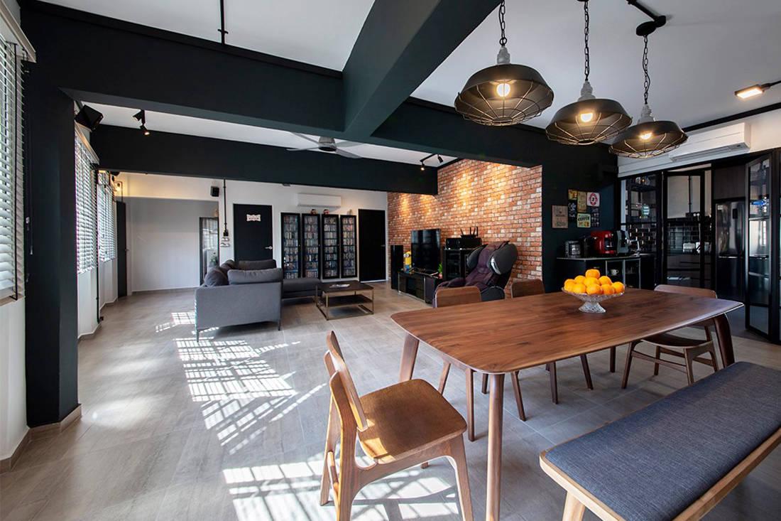 Forefront Interior Bangkit Road resale HDB flat