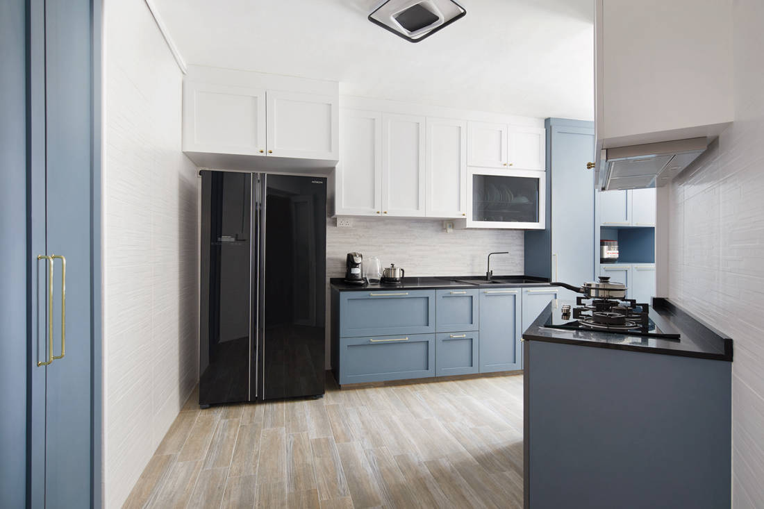 HDB flat kitchen with good qi by Dots N Tots Interior (2)