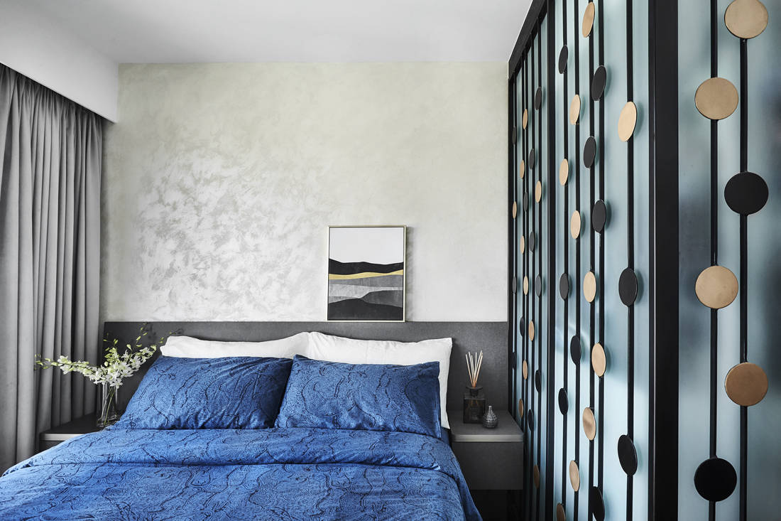 Peranakan industrial bedroom by AMP Design Co