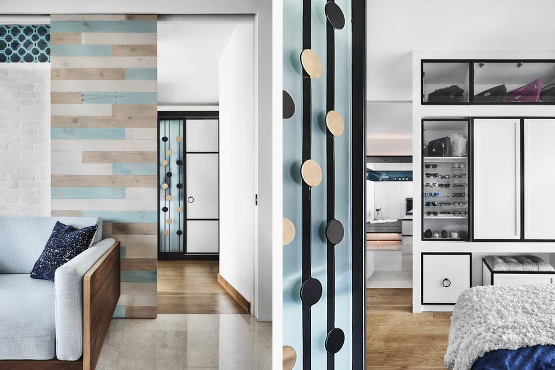 Peranakan industrial bedroom entrance by AMP Design Co