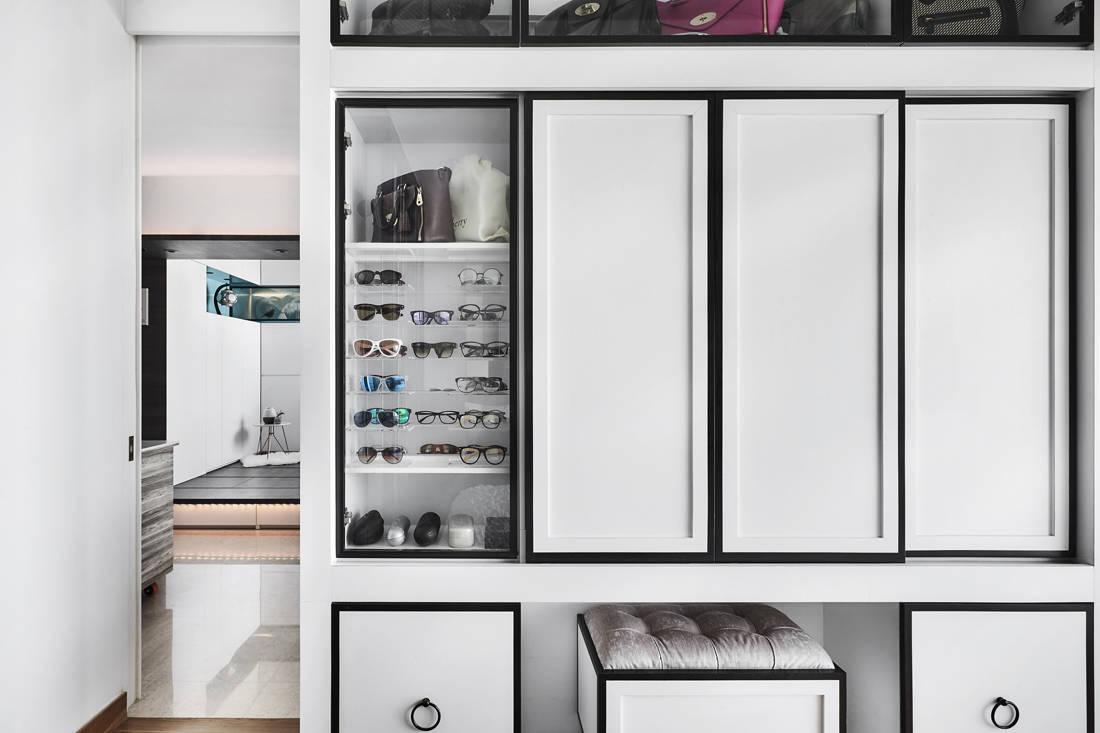 Peranakan industrial wardrobe by AMP Design Co