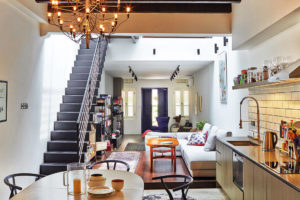 shophouse living room Joey Khu ID