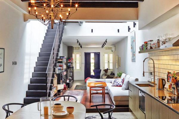 shophouse living room Joey Khu ID