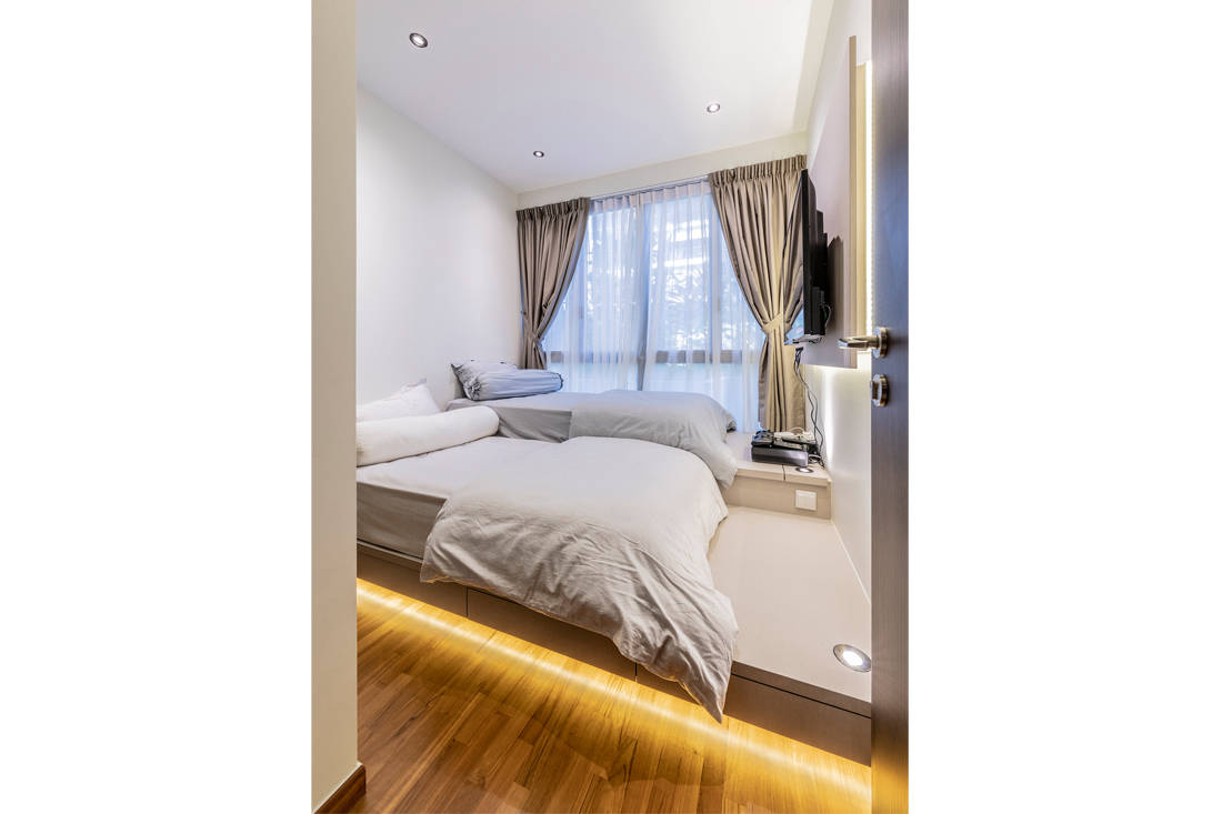 timeless Yishun apartment bedroom by Metier Planner