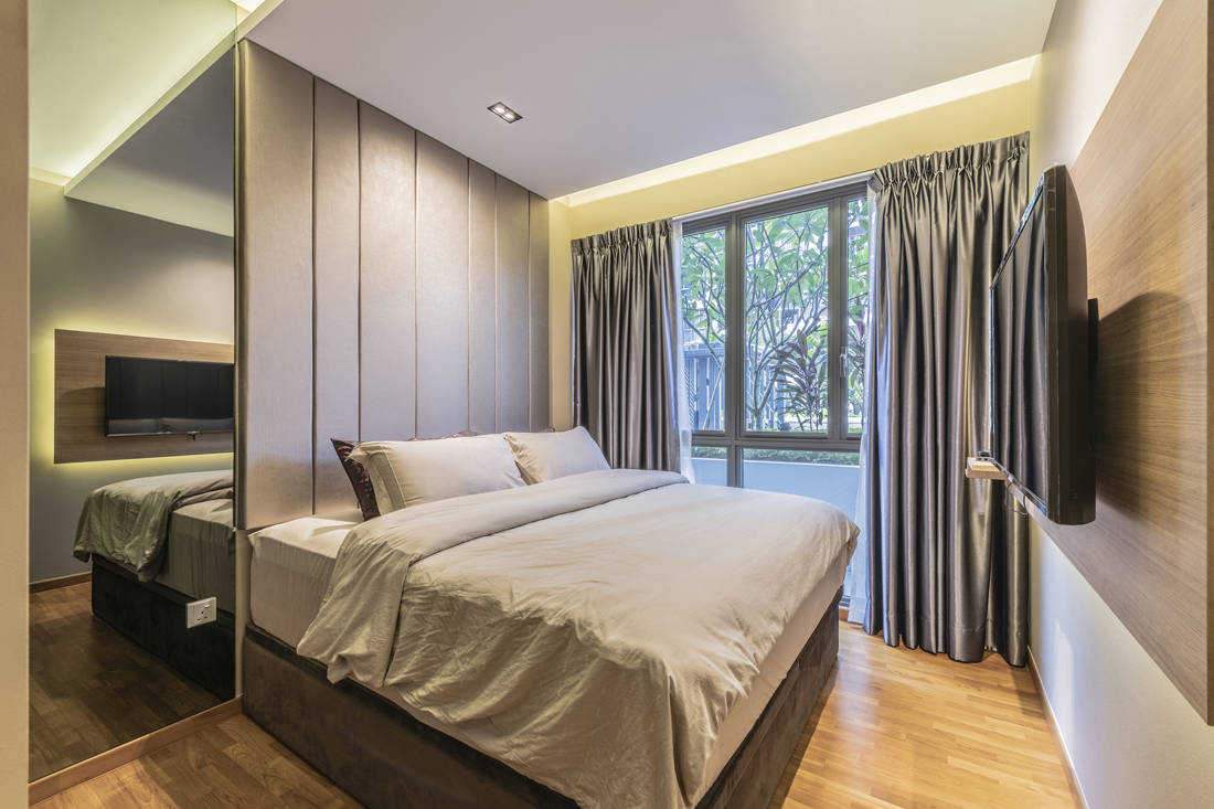 timeless Yishun apartment master bedroom by Metier Planner