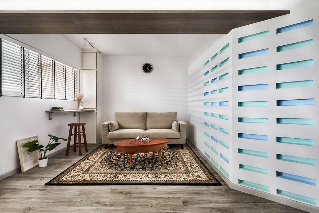 Peranakan-inspired flat
