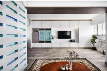 Peranakan-inspired flat with an idyllic charm