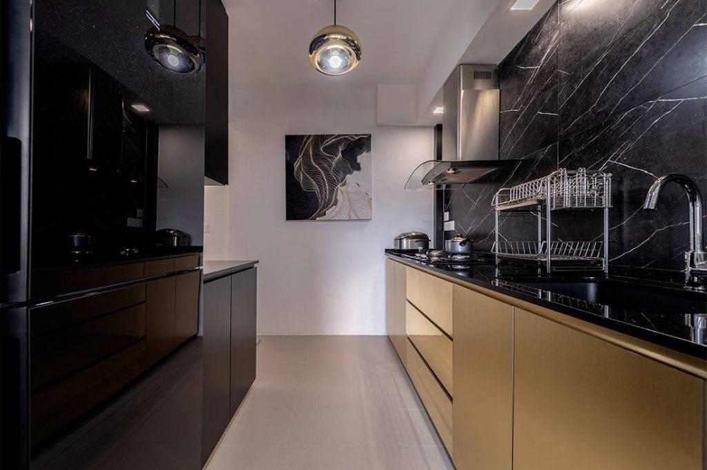 glamorous family home Lux Design