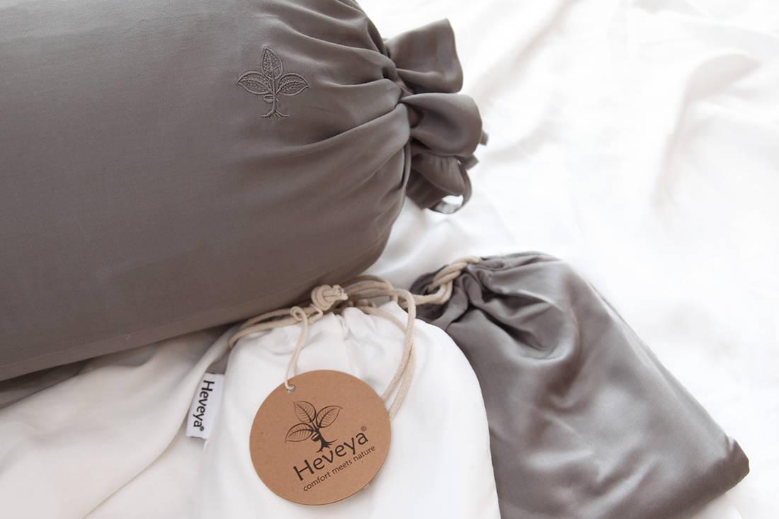Heveya bamboo sheets by European Bedding - bolster