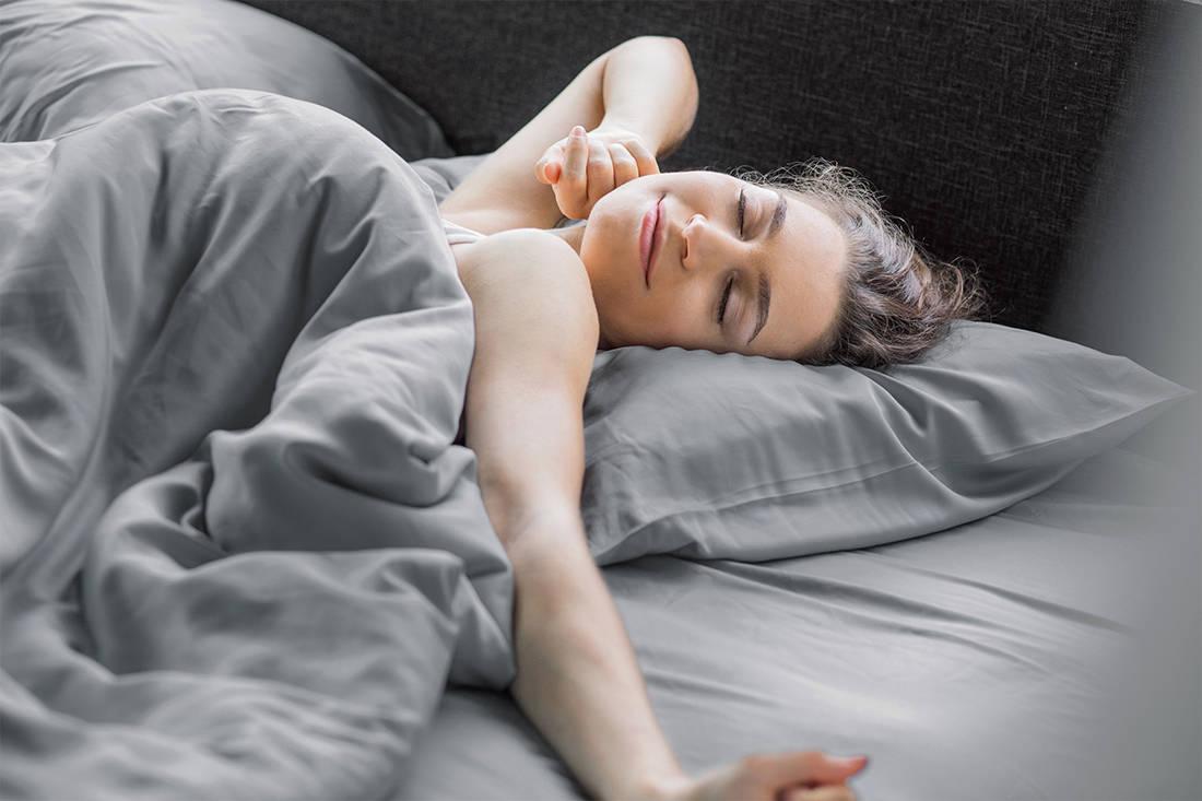Heveya bamboo sheets by European Bedding - waking up