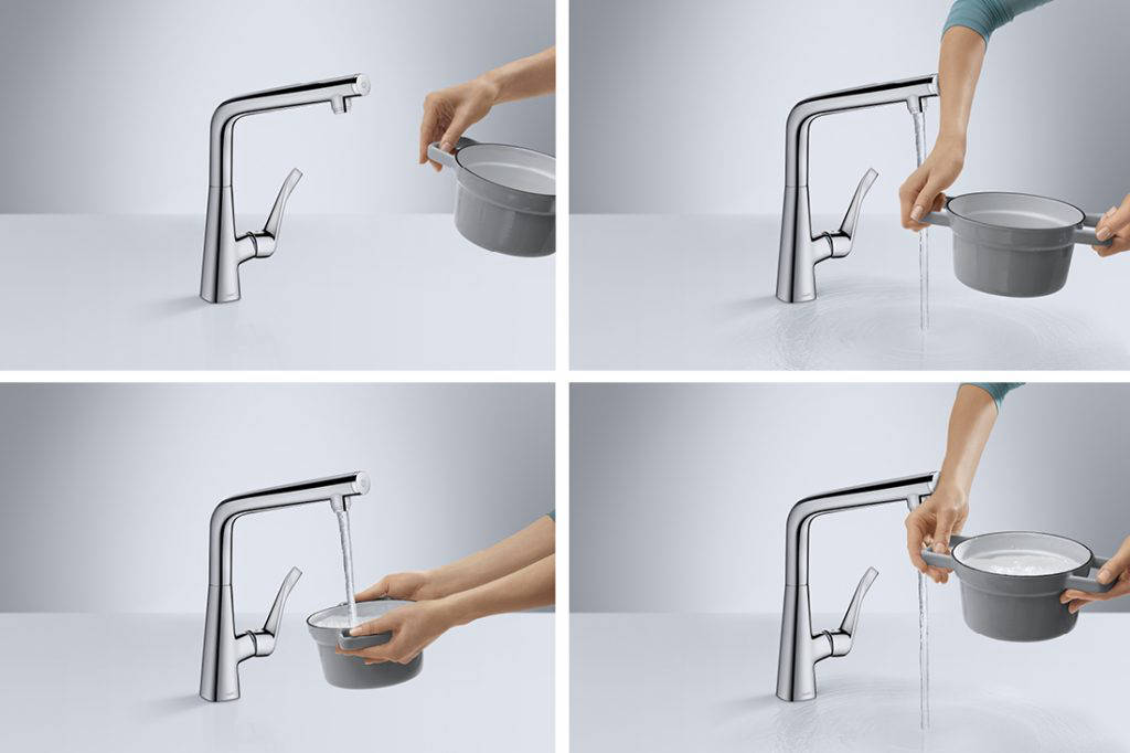 kitchen fittings hansgrohe