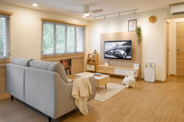 Scandi style hits home in this HDB residence