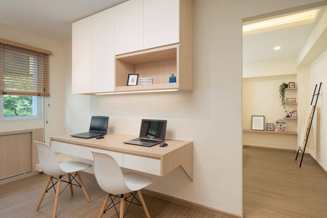 Scandi style resale HDB flat study by AP Concept