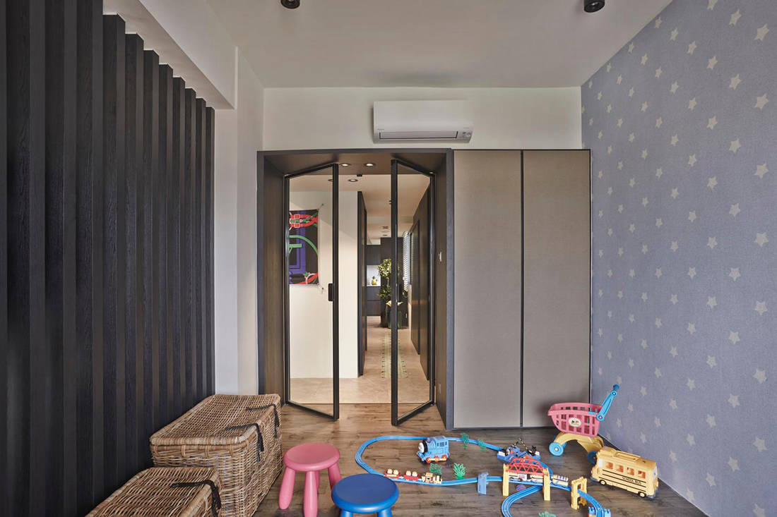 family-friendly home by Minimology - kid's room