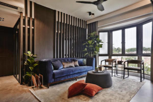 family-friendly home by Minimology - living area