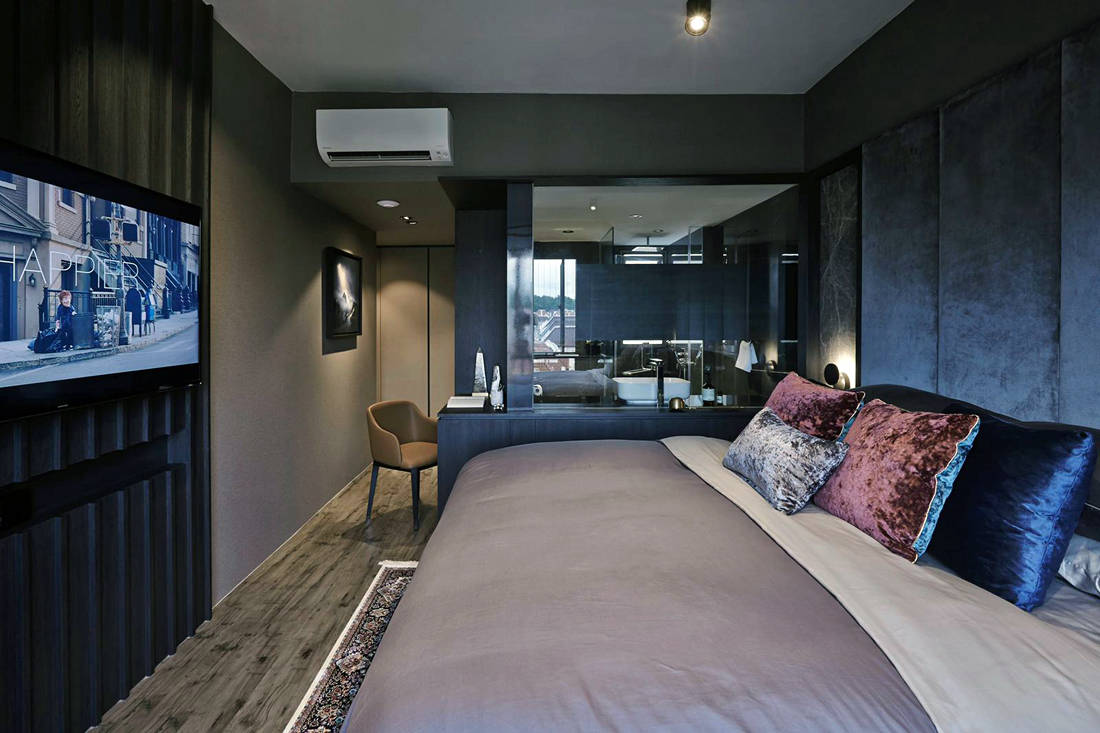 family-friendly home by Minimology - master bedroom