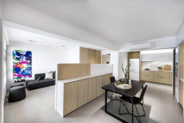 An interior designer's contemporary minimalist home