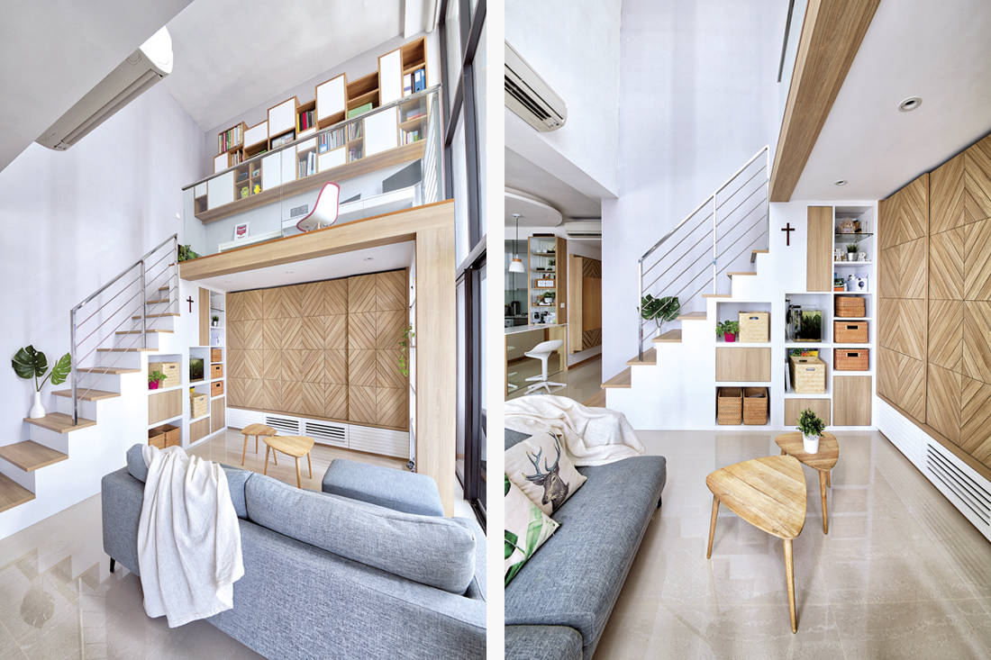 loft apartment by Free Space Intent