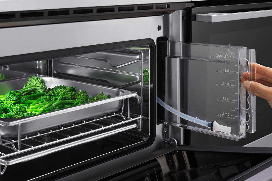 Fisher & Paykel 60cm Built-in Steam Oven water tank