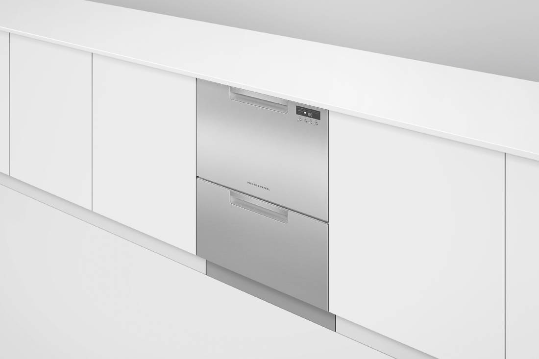 Fisher & Paykel Double DishDrawer™ Dishwasher in-situ closed