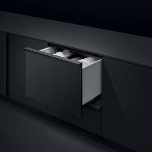 Fisher & Paykel Single DishDrawer™ Dishwasher in-situ open drawer