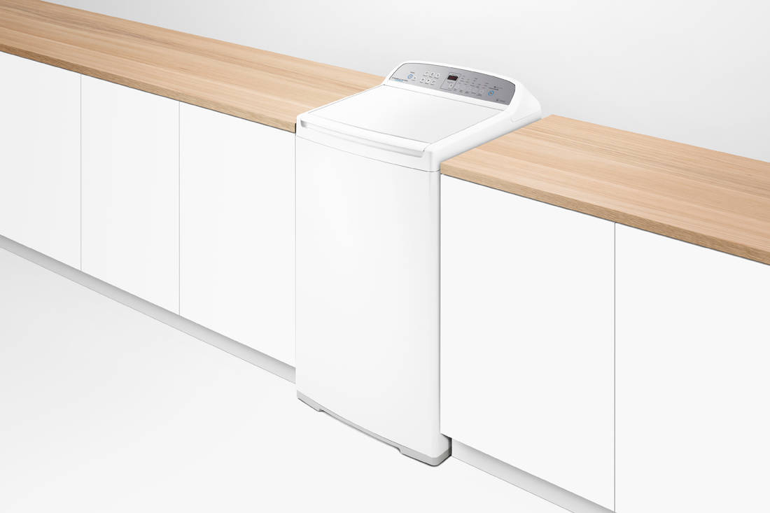 Fisher & Paykel WashSmart™ Top Load Washer side view