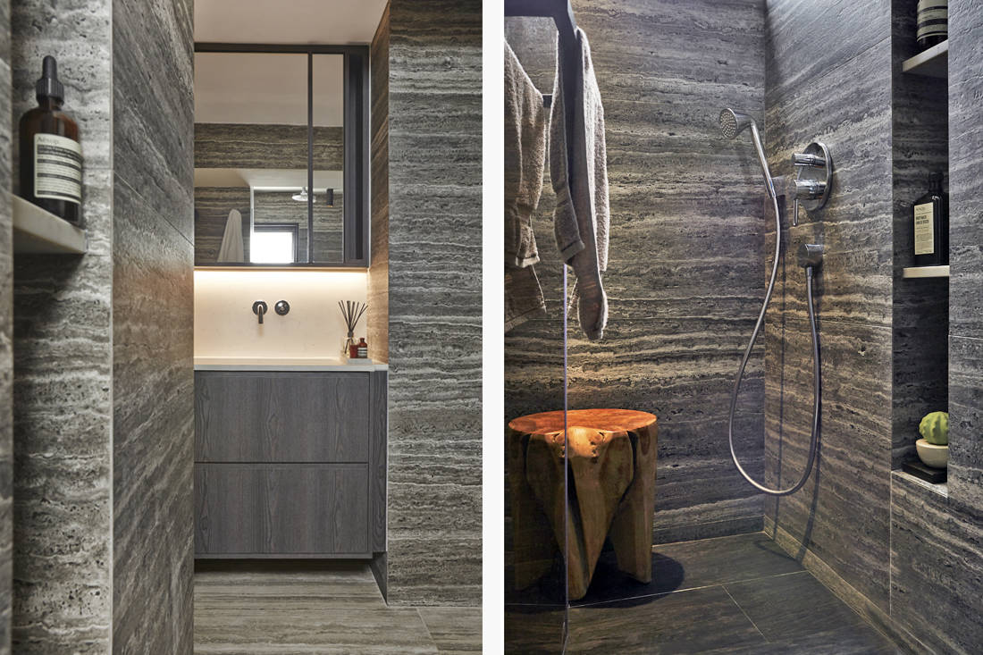 Interior designer Joey Khu's bathroom