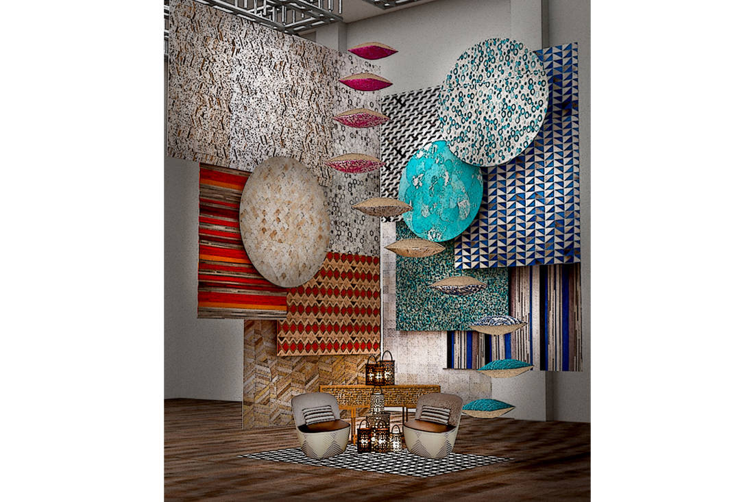 Saturday Indesign collaborative installations - The Cinnamon Room x Fraction