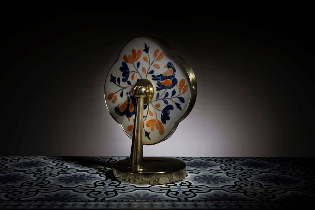Saturday Indesign prizes - ipse ipsa ipsum Peranakan desk mirror