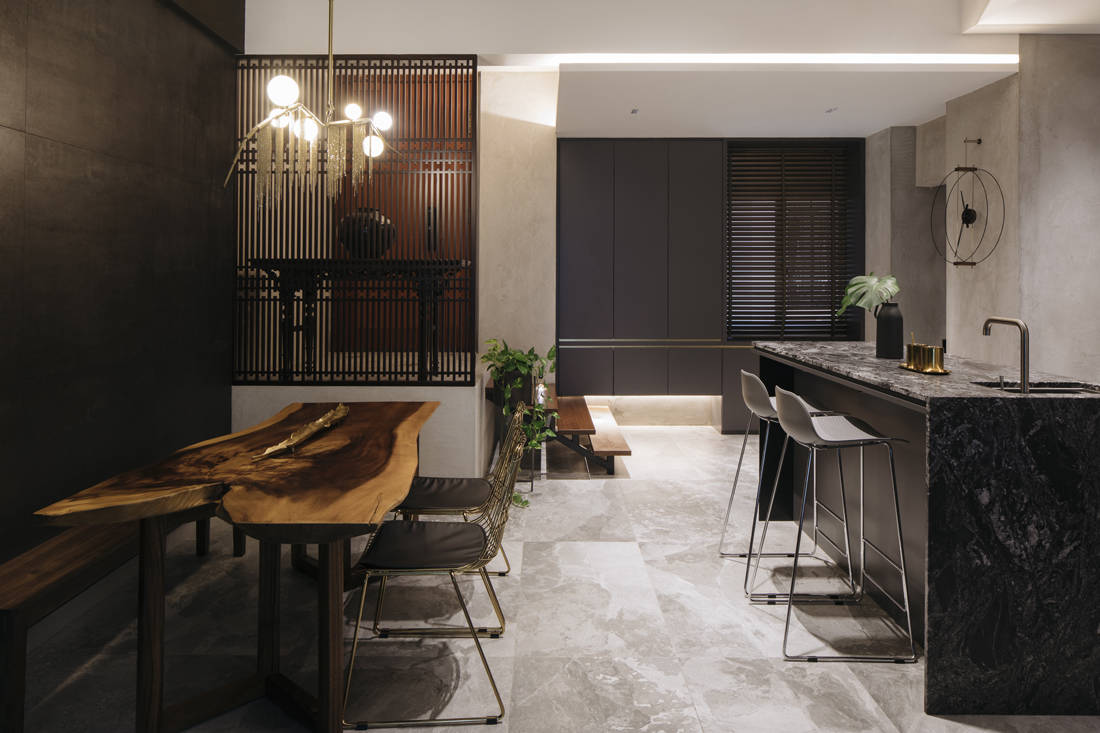 husband enlists Hall Interiors to renovate dining area