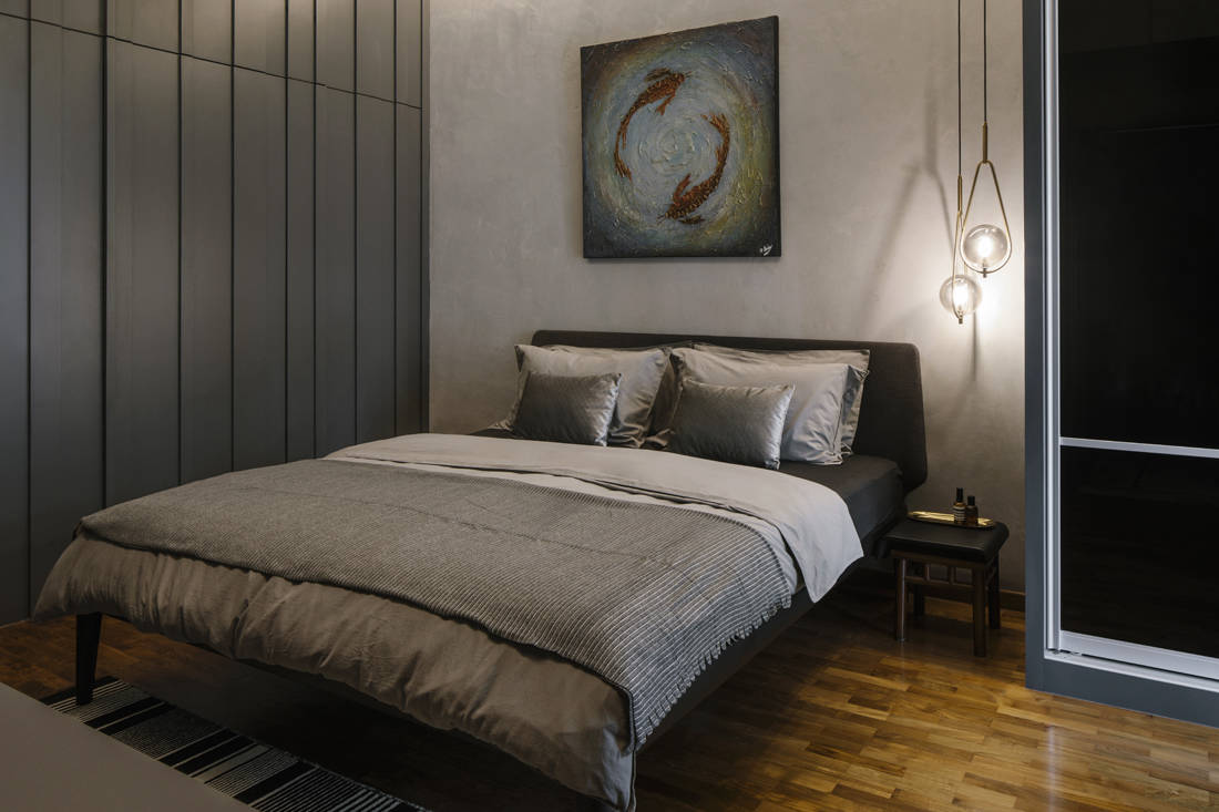 husband enlists Hall Interiors to renovate master bedroom