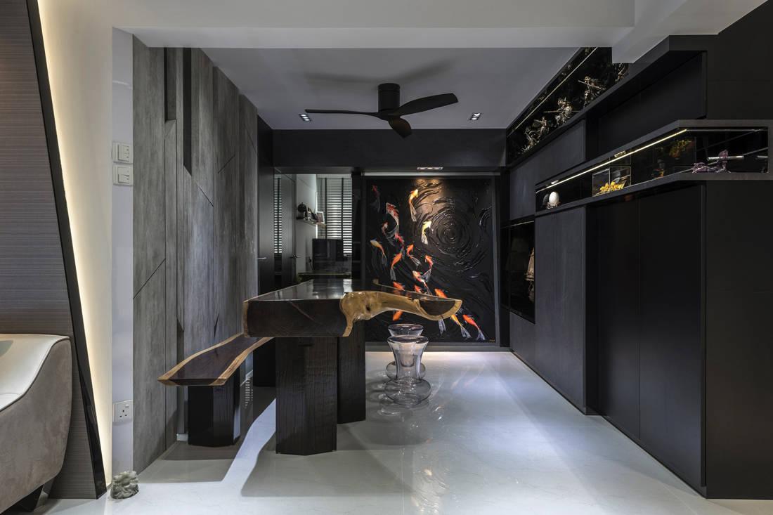 resale flat dining area gets facelifted by Vivre Creative Design