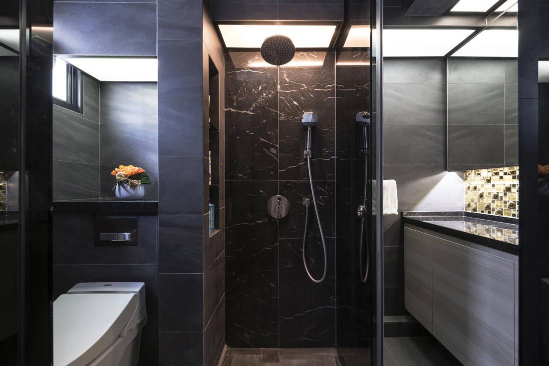 resale flat master bathroom gets facelifted by Vivre Creative Design